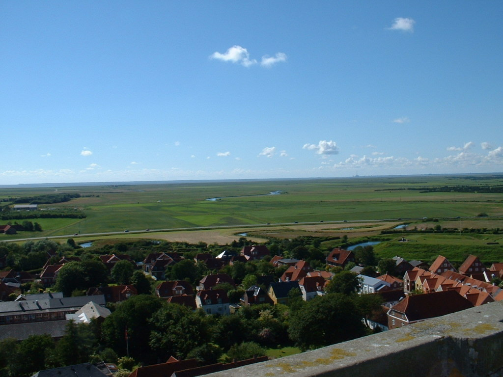 Ribe View to the West