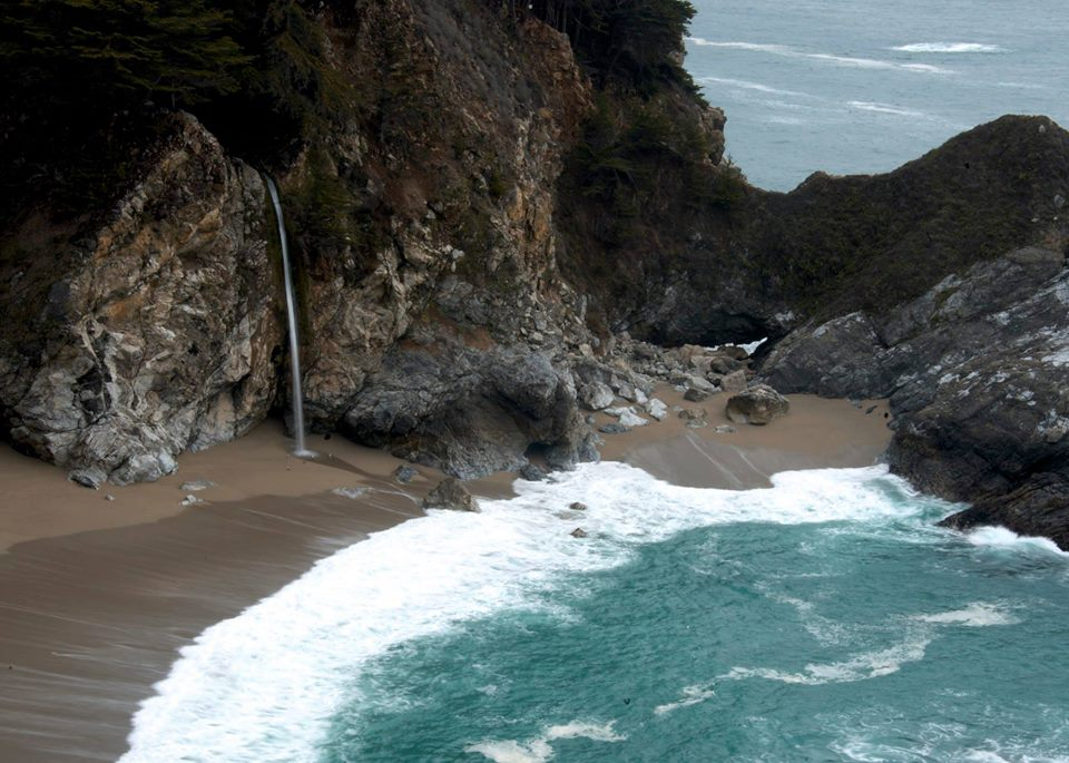 McWay Waterfall, Big Sur, California