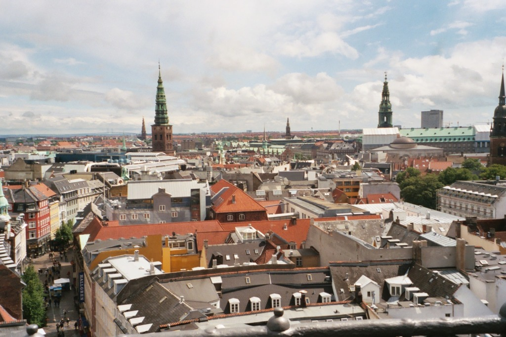View of Copenhagen from the Round Tower - 1