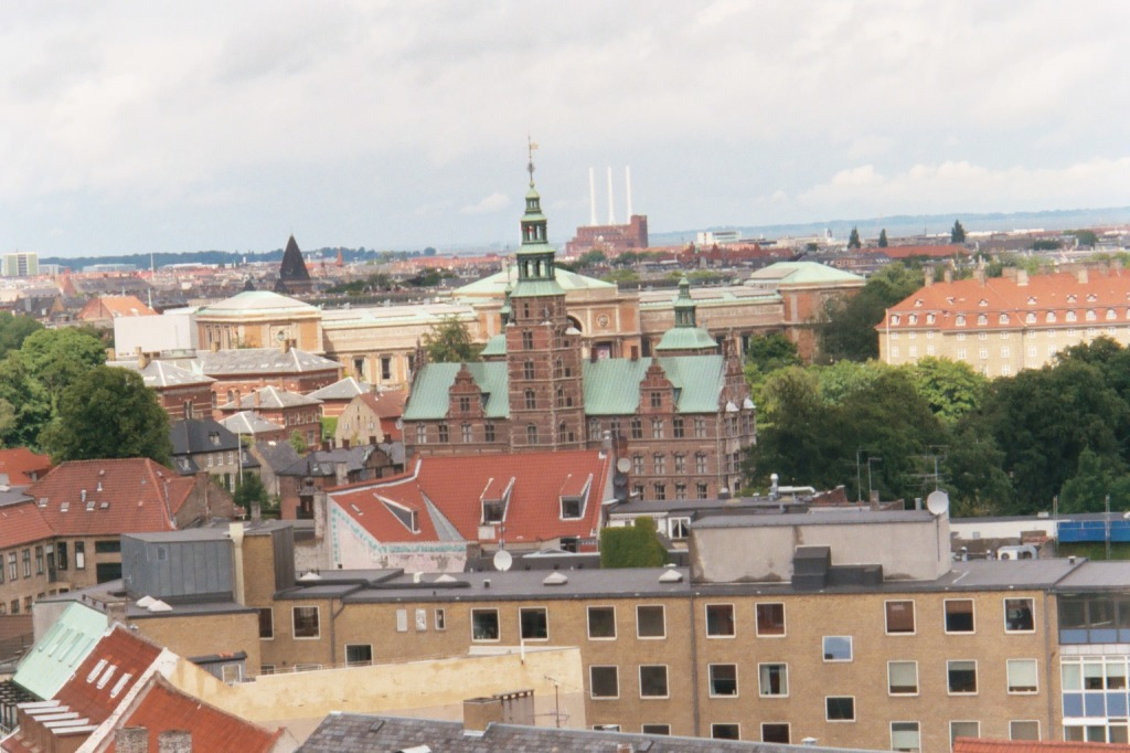 View of Copenhagen from the Round Tower - 2