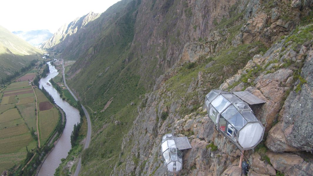 Pod Lodging in Peru's Sacred Valley
